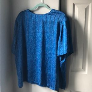🍭*6/$30* Laura and Jayne Patterned Blouse - 22W